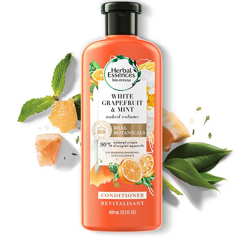 Herbal Essences White Grapefruit and Mint Conditioner Bottle