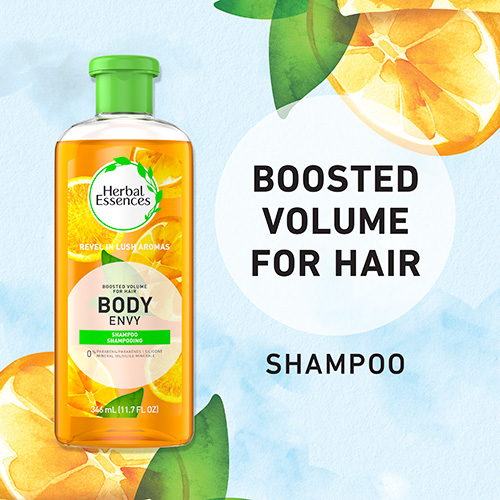 Boosted Volume for Hair