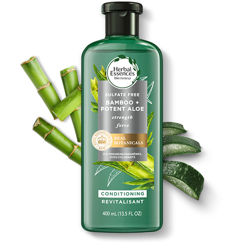 Herbal Essences Bamboo + Potent Aloe Hair Strengthening Sulfate-Free Conditioner