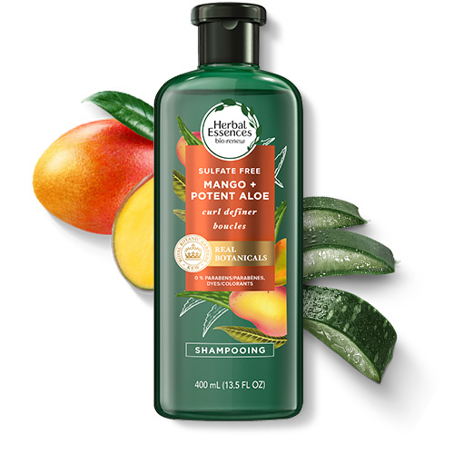Herbal Essences Potent Aloe & Mango Curl Defining Sulfate-Free Shampoo