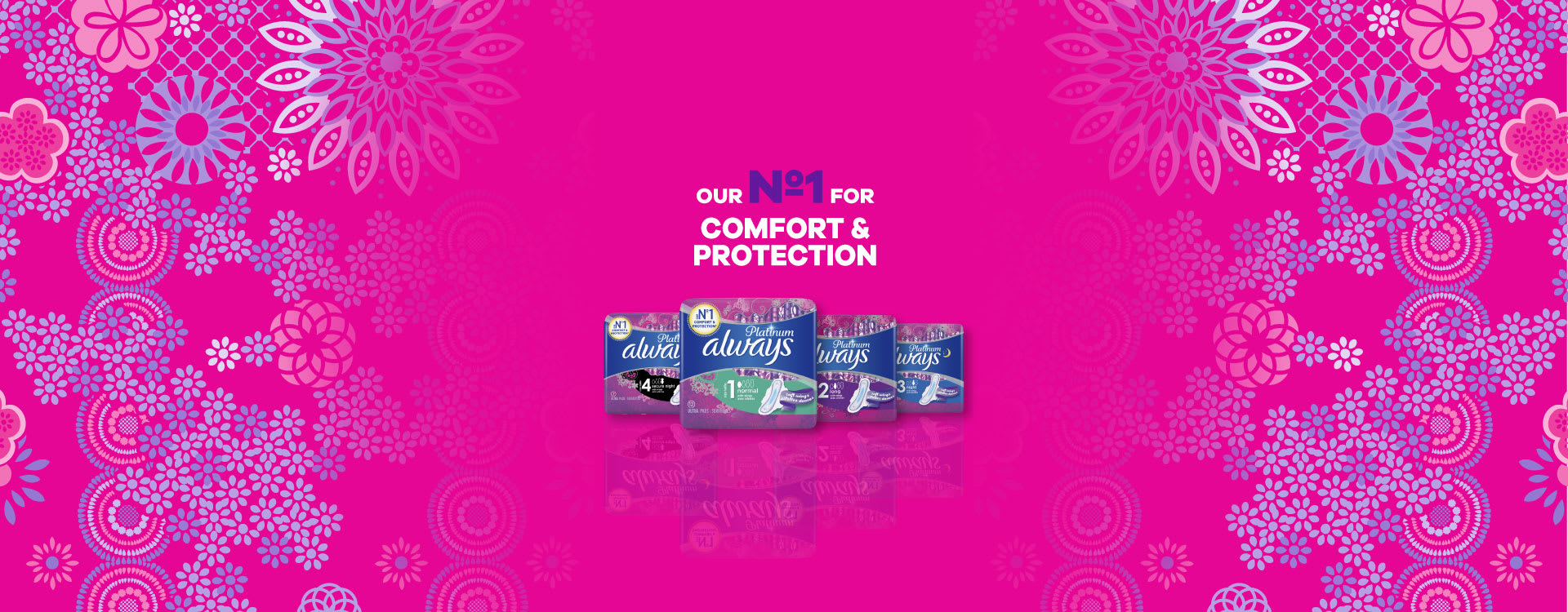 OUR No.1 FOR COMFORT & PROTECTION