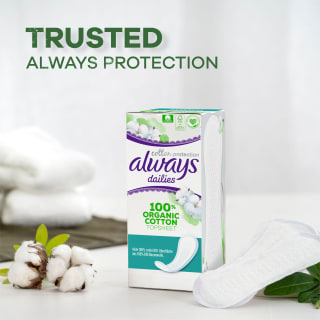 Always Dailies Cotton Protection Normal Secondary Image 4