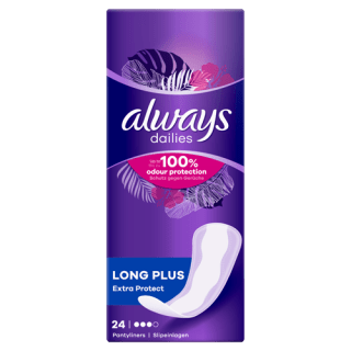 Always Dailies Extra Protect Long Plus Pantyliners