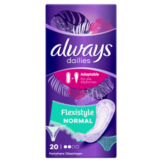 Always Dailies Flexistyle Normal Pantyliners
