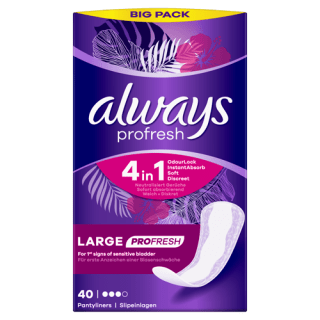 Always Dailies Large Profresh Panty Liners