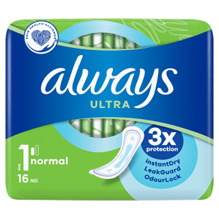 Always Ultra Normal (Size 1) Sanitary Pads