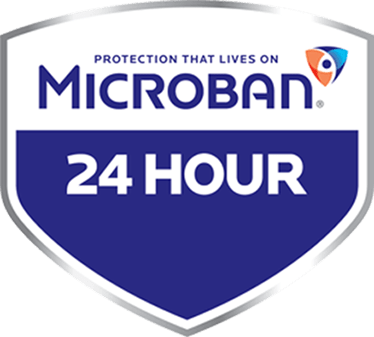 Microban Shield Logo