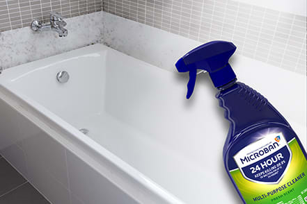 Powerful cleaning formula penetrates tough stains, grease & grime