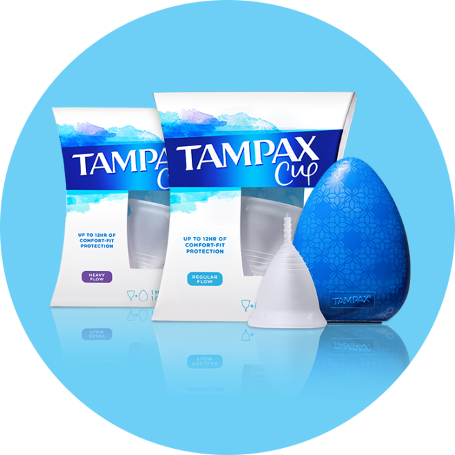 Tampax Menstrual Cup Category