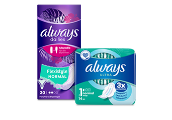 Always Pads & Liners