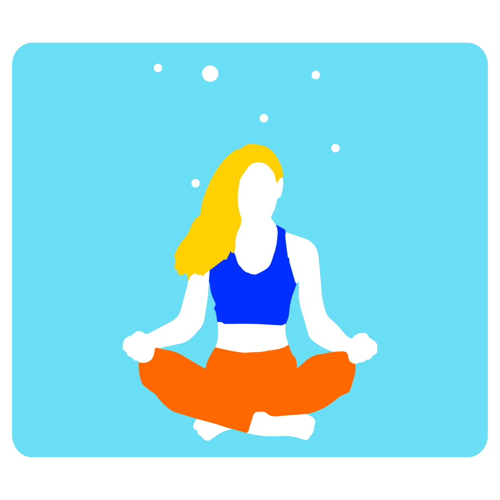Meditate your blues away