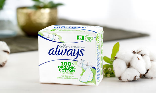 Always Cotton Protection Ultra Organic Sanitary Towels