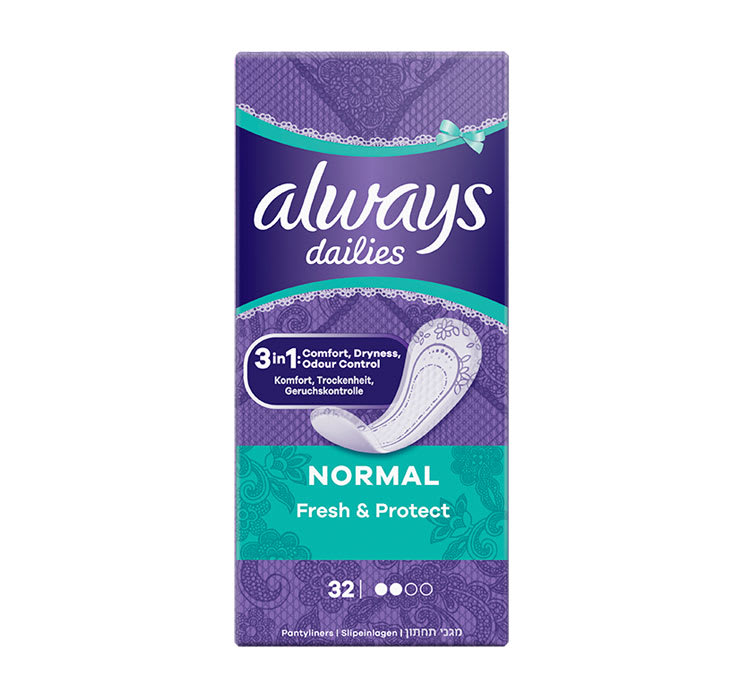 Fertility Time - Always Dailies Normal Fresh & Protect