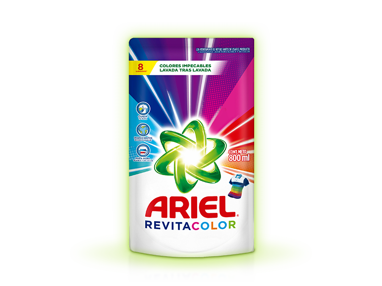 Ariel Revitacolor Liquido ARGENTINA 800 ml