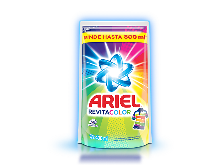 Ariel Revitacolor Líquido 400ml