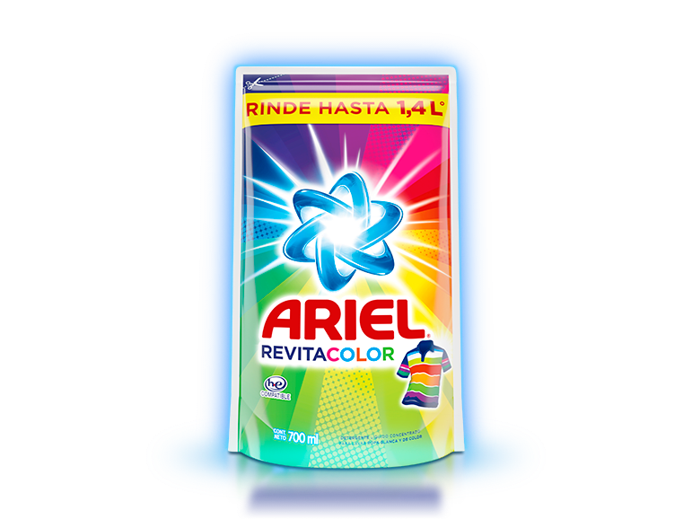 Ariel Revitacolor Líquido 700ml