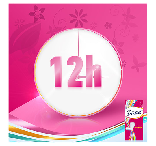 03 - Discreet Normal Non Scented Panty Liners
