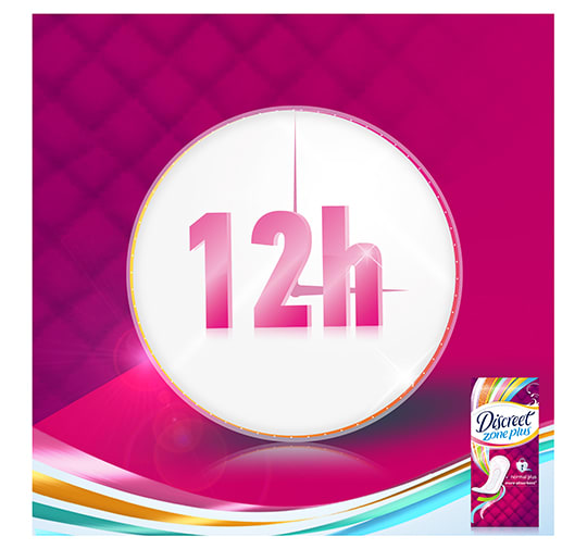 04 - Discreet Zone Plus Normal Panty Liners