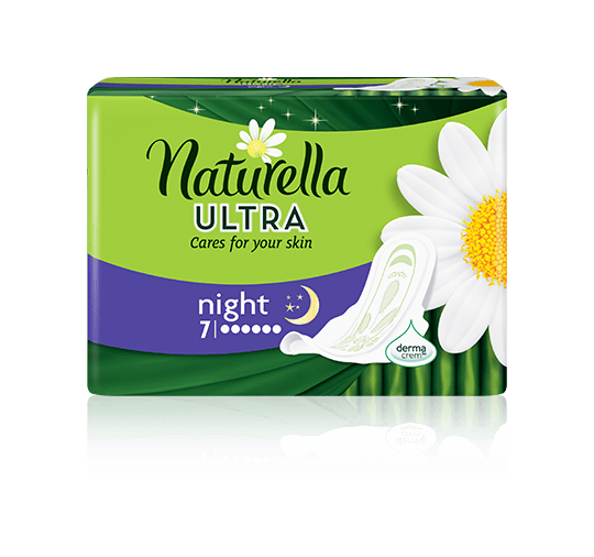 Naturella Ultra Night Camomile-7