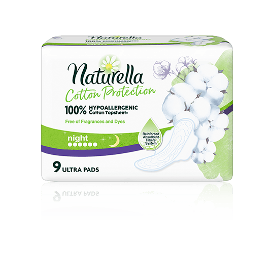 Naturella Naturals Cotton Protection Night_9