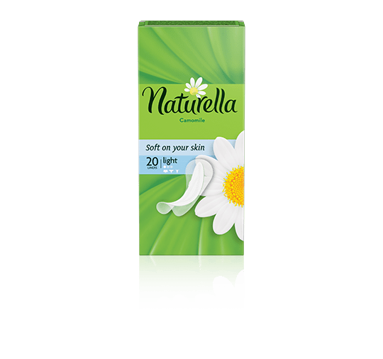 Naturella Liners Light Camomile_20