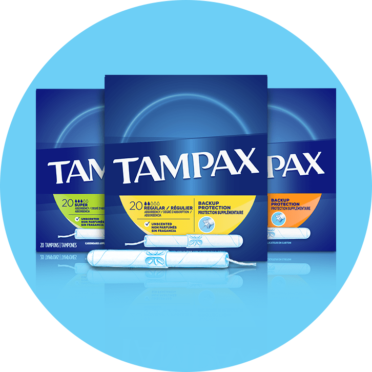Tampax Cardboard Category