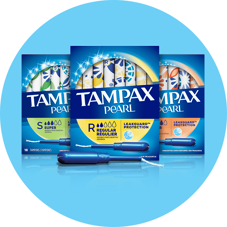 Tampax Pearl category