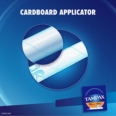 Tampax Cardboard Super Plus Applicator