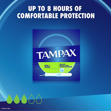 Tampax Cardboard Super protection