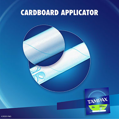 Tampax Cardboard Super Applicator