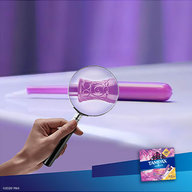 Tampax Radiant Regular Aplicator