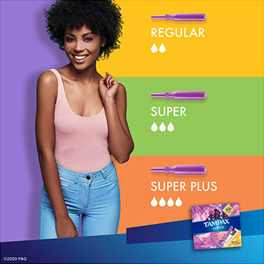 Tampax Radiant Regular Flow