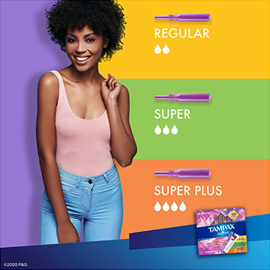 Tampax Radiant Triple-pack Flow