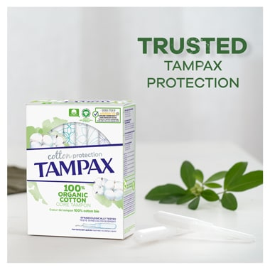Tampax Trusted Protection