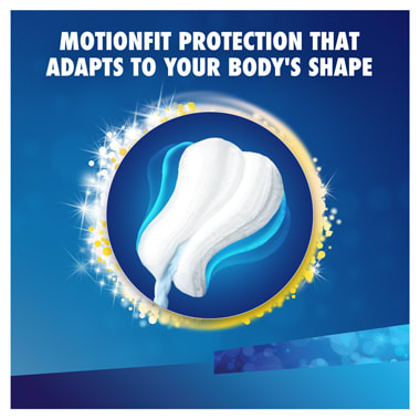 Tampax Motion Fit Protection