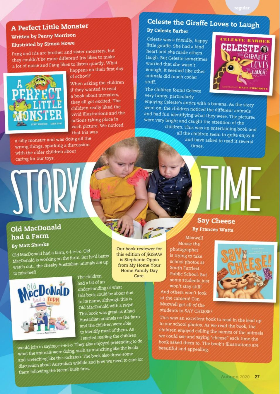 Family Day Care Australia Book Review
