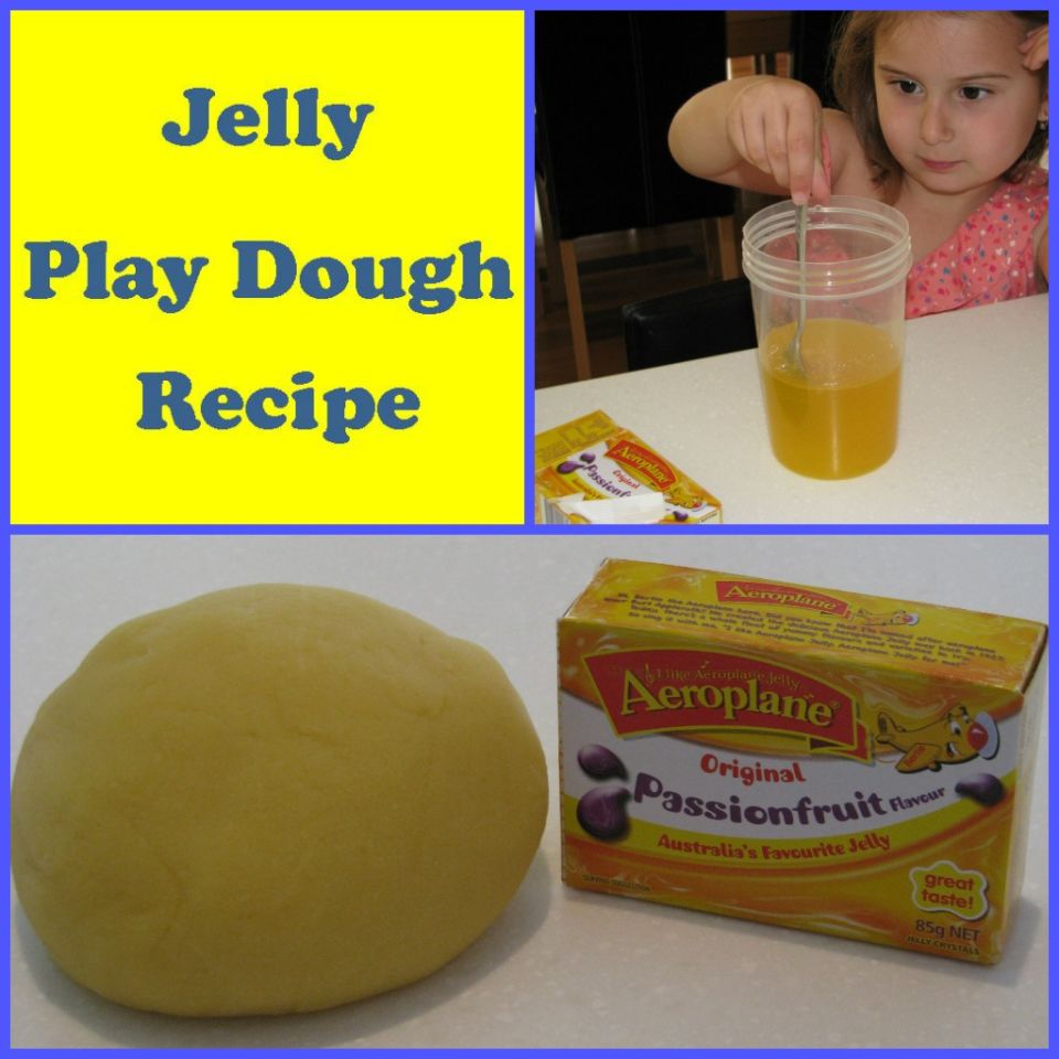 Jelly Playdough