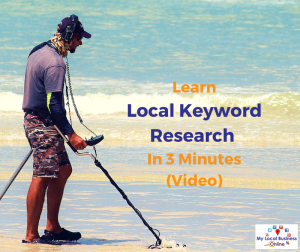 Learn Local Keyword Research In 3 Minutes [Video]