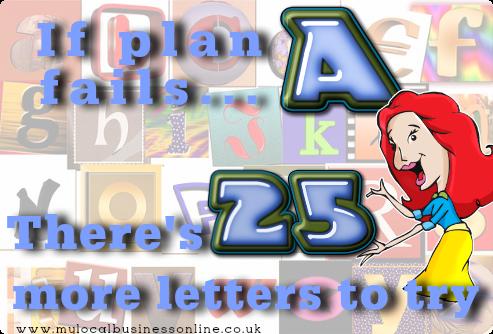 If Plan A fails
