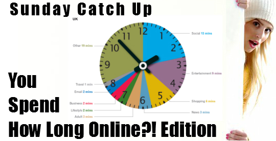 Catch Up You Spend How Long Online?! Edition