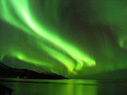 Northern lights around Tromsø, Norway