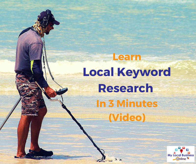 Learn local keyword research in 3 minutes (video + text)
