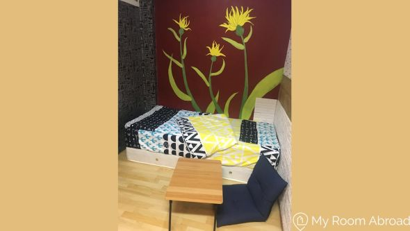 My Room Abroad - Shared rooms and studios for international students, exchange students, language teachers and expats in Aisa. Cozy Single Room Near Guting