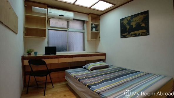 My Room Abroad - Shared rooms and studios for international students, exchange students, language teachers and expats in Aisa. Nice double room in GutingRoom
