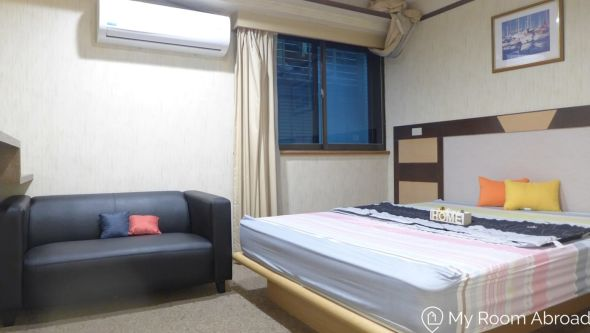 My Room Abroad - Shared rooms and studios for international students, exchange students, language teachers and expats in Aisa. *Monthly Rental* Bright and spacious room 1min walk to MRT Guting station