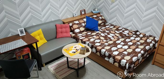 My Room Abroad - Shared rooms and studios for international students, exchange students, language teachers and expats in Aisa. Cozy studio in Yonghe