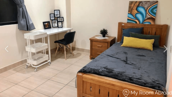 My Room Abroad - Shared rooms and studios for international students, exchange students, language teachers and expats in Aisa. Newly-furnished Ensuite close to NTU, NTUST