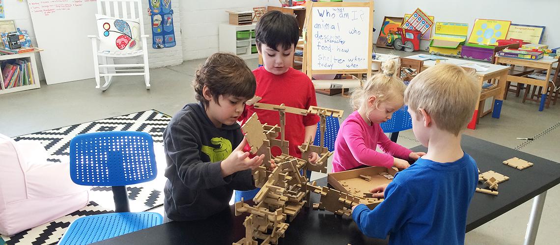 My Spectrum School Students Constructing