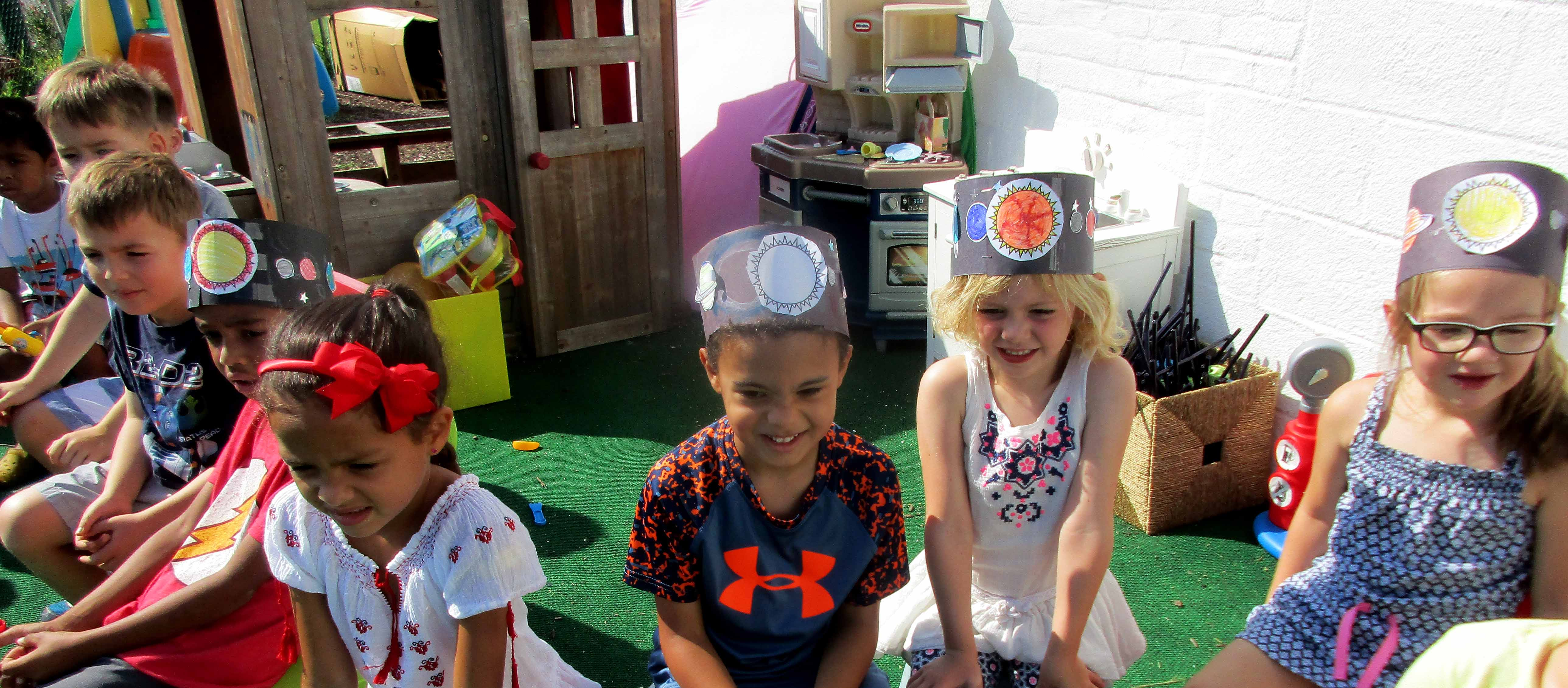 Summer Camp Planet Hats