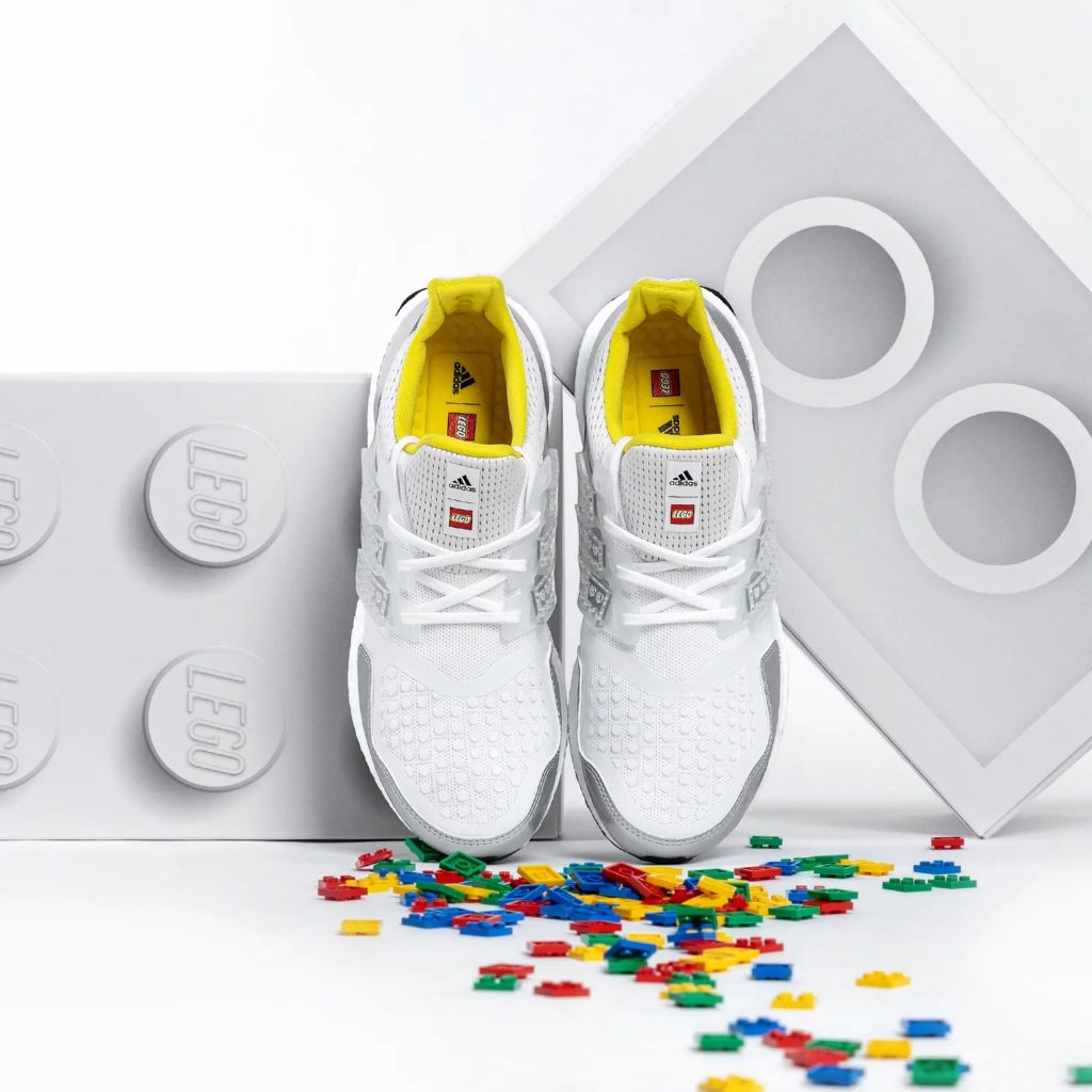 Get Creative with ADIDAS' New Customisable Ultraboost DNA x LEGO Plates Running Shoes